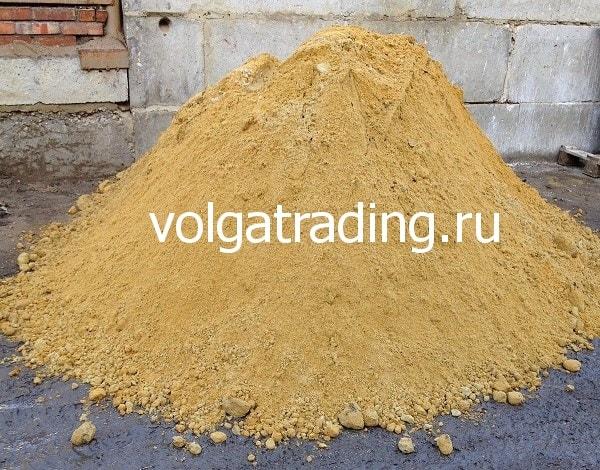 Купите желтый карьерный песок в Саратове